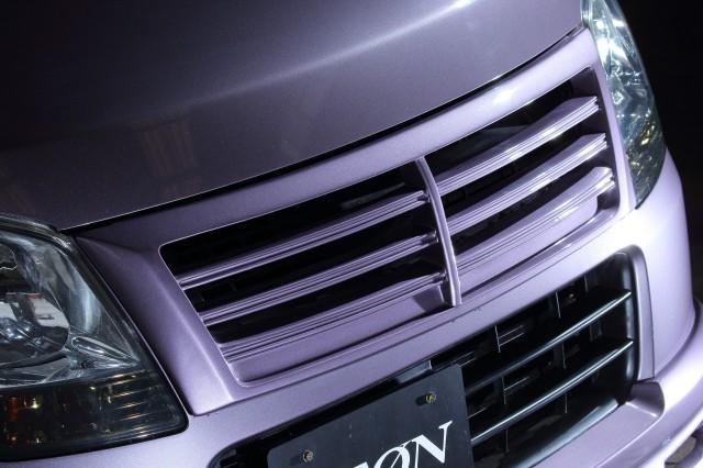 【塗装済】 ワゴンR・MH23S フロントグリル ジークレーベル