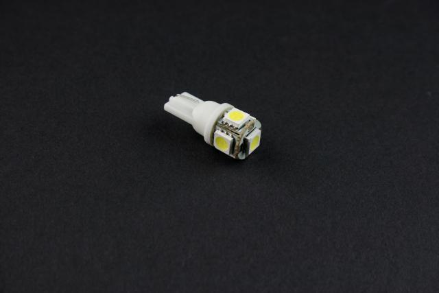 【汎用品】高性能LEDバルブ Kタイプ ホワイト 2個セット【メール便可】