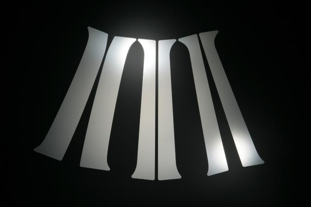 【ホンダ】【ライフ】 JB5.JB6.JB7.JB8 ステンレスピラー 6枚セット