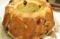 クグロフ型のフルーツいっぱい食パン