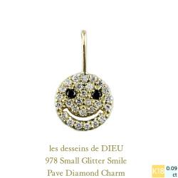 レデッサンドゥデュー 978 スモール スマイル ダイヤモンド チャーム 18金,les desseins de DIEU Smile Diamond Charm K18