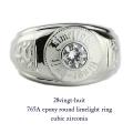 28vingt-huit 765a ラウンド カレッジ キュービックジルコニア リング メンズ シルバー,ヴァンユィット epoxy Zirconia ring Silver Mens