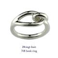 28vingt-huit 768 フック リング メンズ シルバー,ヴァンユィット Hook Ring Silver Mens
