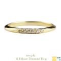 two ply 161 アーベイン ダイヤモンド リング 18金,Urbane Diamond Ring K18