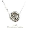 トゥー プライ 355 ローズ ダイヤモンド ネックレス 18金,two ply Rose Diamond Necklace K18