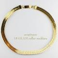acopinaco 18 グラム カラー ネックレス チョーカー ゴールド,アコピナコ GLAM Collar Necklace Gold,パーティ アクセサリー