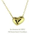 レデッサンドゥデュー 562 ビーンズ ハート S ネックレス 18金,les desseins de dieu Beans Heart Necklace K18