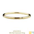 ピナコテーカ 189 レール 一粒ダイヤモンド 華奢リング 重ね付け 18金,pinacoteca Rail Diamond Ring K18