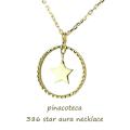 ピナコテーカ 386 スター オーラ 華奢ネックレス 18金,pinacoteca Star Aura Necklace K18