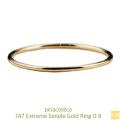 ピナコテーカ 747 極細 華奢リング エクストリーム シンプル 指輪 ピンキーリング 18金,pinacoteca Extreme Simple Ring K18