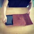 LEATHER TABLET CASE instagram