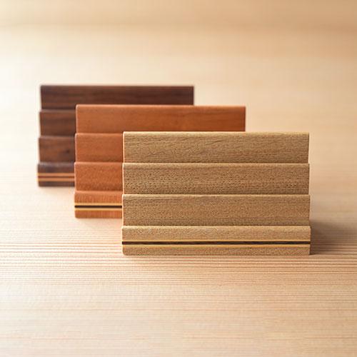 カードスタンド/蛍木工