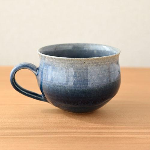流青 マグカップ/亀井 紀子(陶工房 もちの木)