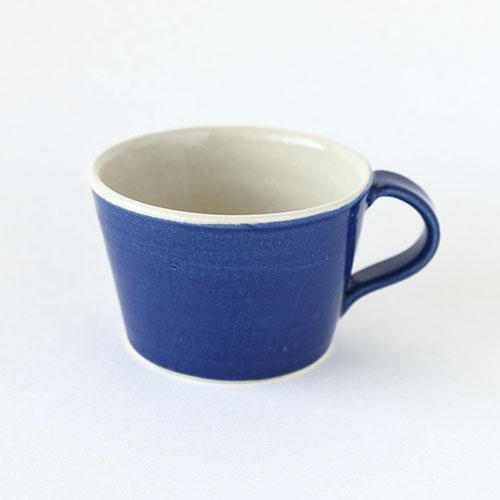 マグカップ【陶器・インディゴブルー】/森永 淳俊