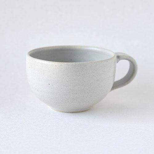 スープボウル【陶器・マットホワイト】/森永 淳俊