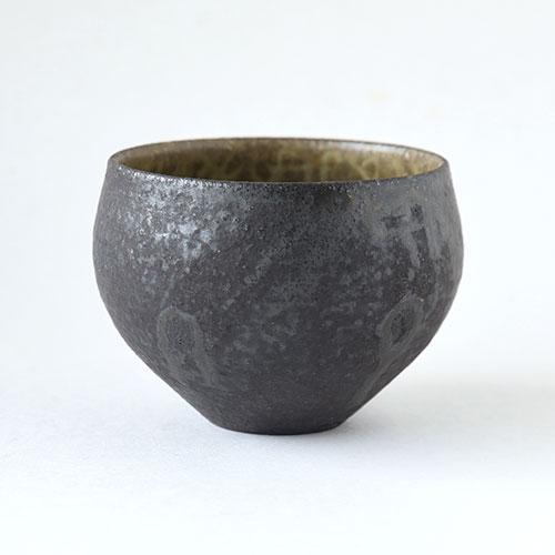 灰釉 ほっこり湯呑・大【陶器】/十河 隆史(T-POTTERY)