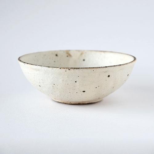 粉引 5寸取り鉢(丸)【陶器】/十河 隆史(T-POTTERY)