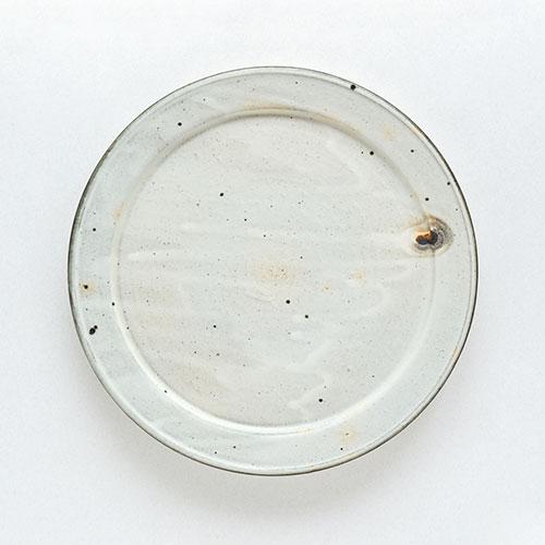 幅広リム皿(直径26cm)/十河 隆史