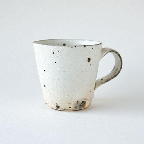 粉引 マグカップ【陶器・粉引】/十河 隆史(T-POTTERY)