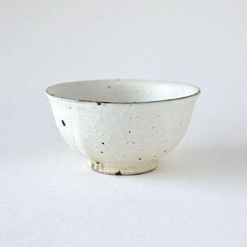 めしわん(中)【陶器・粉引】/十河 隆史