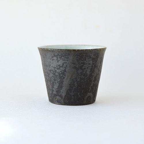 白黒 そばちょこ【陶器】/十河 隆史(T-POTTERY)