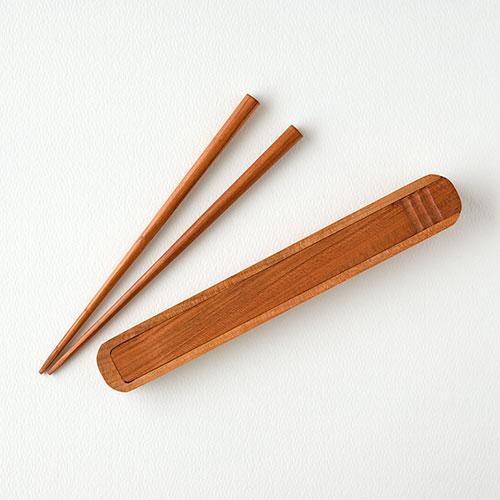 木の箸箱セット/TANBANANBA 木のしごと