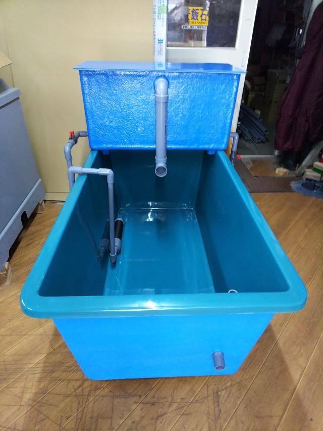 【消費税込】FRP水槽 専用濾過槽(ポンプ・濾材付) SF-500PUMP-OS