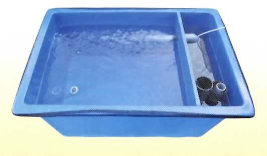 【消費税込】FRP水槽 一体型水槽 US-180B