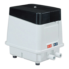 【消費税込・送料無料】安永電磁式エアーポンプ 浄化槽用逆洗機能付き EP-80E 左右散気選択