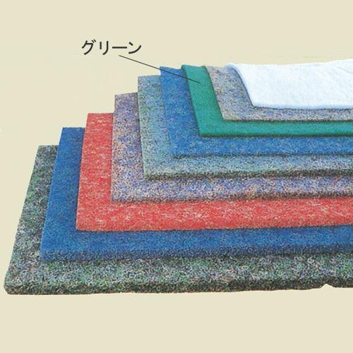 【消費税込・送料無料】濾材 ビニロック (グリーンマット)