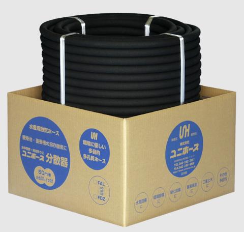 【消費税込】エアーリング交換用ユニホース 原反 50M UNI-HOSE-50M
