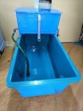 【消費税込】FRP水槽 専用濾過槽(ポンプ・濾材付) SF-500PUMP-IS