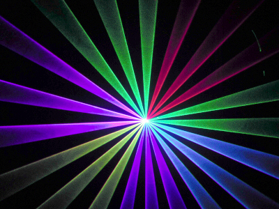 1500mw高性能インテンシティー機能付RGBレーザーライト(レーザービーム) A1500RGB+
