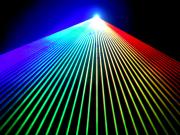 【2020年最新モデル!】光学式スキャナーインテンシティー機能付 2W RGB フルカラーレーザーライト(レーザービーム)超オススメです!
