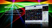 Pangolin(パンゴリン) QuickShow(クイックショー)4.0、ILDA レーザー用ソフトウエア  信号ケーブル、当店オリジナルデーター付
