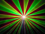 光学式 レッド、グリーン、イエロー3カラーレーザーライト(レーザービーム)300mw 2021年モデル入荷!