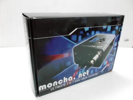 PC無しでもコントロール可能 レーザーILDAソフト Moncha.NET (モンチャネット)1本在庫有り