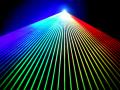 【新製品!】光学式スキャナーインテンシティー機能付 2W RGB フルカラーレーザーライト(レーザービーム)超オススメです!