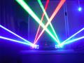 強力レーザービーム 4ヘッドパワーレーザーP4800RBGB