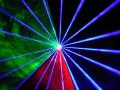 超小型で設置場所を選びません!650mwRGBカラーレーザーライト大人気商品!