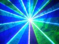 高性能インテンシティー機能付1500mwフルカラーレーザーライト(レーザービーム) A1500RGB+