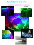 LIGHTING CRAFT 無料カタログ 2019-2020年版