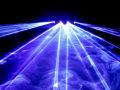 4ヘッド マルチビームカラーレーザー(レーザーライト) D900W 4方向へのビームで幅広くレーザー光線を照射