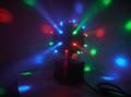 【在庫処分品】手軽にミラーボールのような効果、マジックLEDボール(RGBカラー)
