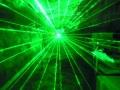 ロープライス50mwグリーンレーザービーム(レーザーライト)  ステッピングモーター式