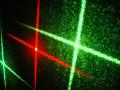 星のダイナミックな演出 スターレーザーライト(レーザービーム)