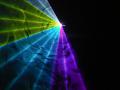 【新製品】超小型 RGB 7カラーレーザーライト(レーザービーム)400mw DMX、ILDA対応