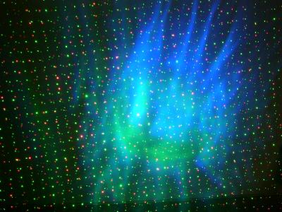 スターレーザーライト (レーザービーム) 美しい星と宇宙空間の演出 ST900
