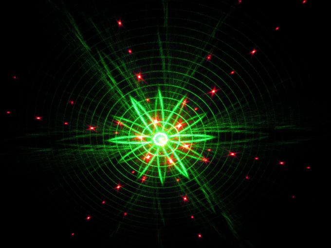 【特価】スターレーザーC(レッド、グリーン幻想的な光の演出):テスト商品処分