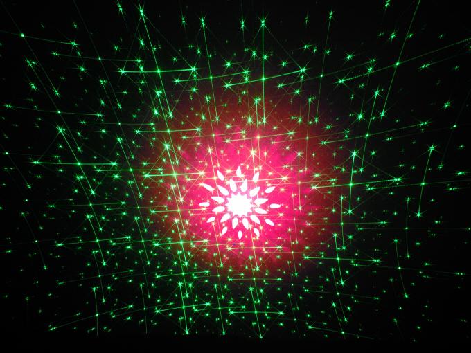 【特価】スターレーザーA(レッド、グリーン幻想的な光の演出):テスト商品処分
